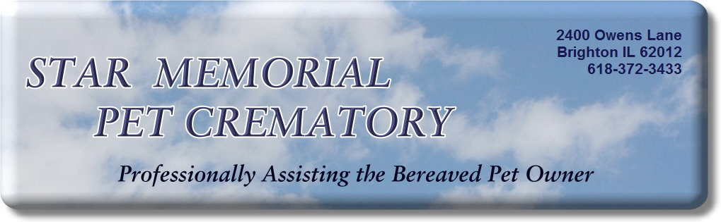 Star Memorial Pet Crematory - Brighton IL - Rowens Kennels